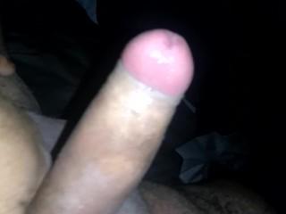 Jerking big dick