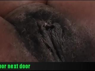 Upclose Pussy Ebony Milf Tease 1