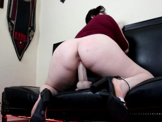 PREVIEW- Big Booty Size Queen Fucks Real Cock