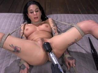 Joanna Angel fully submits to The Pope