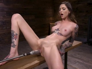 Rocky Emerson gets fucked by the machines and has nonstop orgasms
