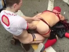 Gut punching in the street, don't give a fuck