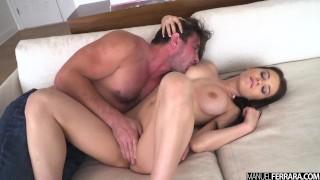 Manuel Ferrara - Lana Rhoades Does Her Best Impression Of A Cinnamon Bun