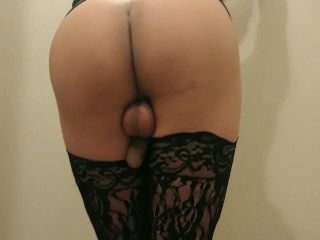 Wanna see my thick ass and sissy cock?