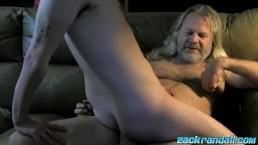 Young Wyatt Blaze blowjob and riding  daddy big cock cumshot