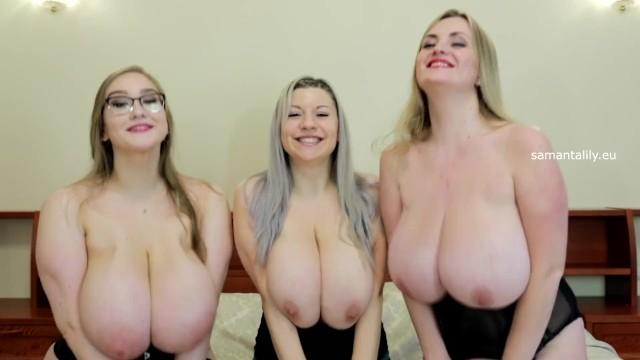 Blonde;Lesbian;Pornstar;Russian;60FPS;Verified Amateurs huge-natural-tits, lesbian-threesome, big-boobs
