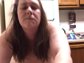 Slut lost a bet and made to take painful dildo in her ass