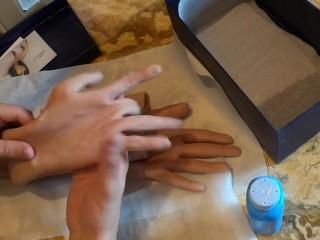 Roanyer Crossdresser Hands - First Hands on - Slicone Hands