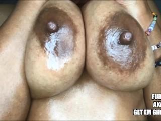Oiled big booty ass worship 36f natural big...