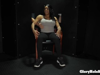 1st time gloryhole porno with Dawn never sucked on camera