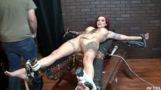 HardcoreTickling - Annas Tickled Til She Squirts