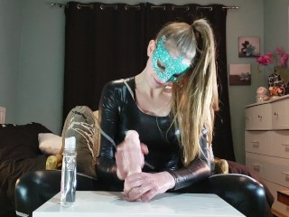 Mylie Blonde edging JOI with countdown orgasm