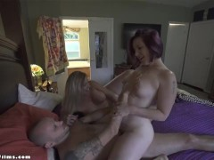 Hot Horny Housewife Milfs Seduce Pizza Delivery Guy - Jane Cane, Coco Vandi