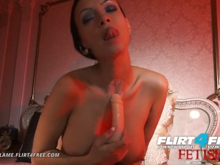 Lovia Flame on Flirt4Free Fetish – Hot Hard Bodied Euro Fucking Neck Fetish