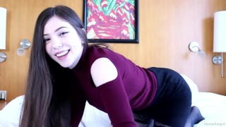 Screen Capture of Video Titled: Micro dick joi - lilcanadiangirl