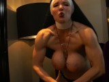 Muscular Nun Humiliates You With Muscle Comparison