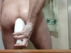 Anal fisting and large object insertion