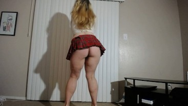 Hot Thick Girl Stripping