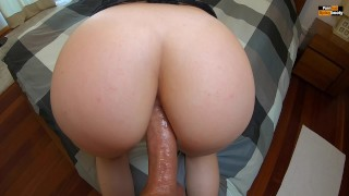 PAWG GETS ANAL DOGGYSTYLE | POV AMATEUR