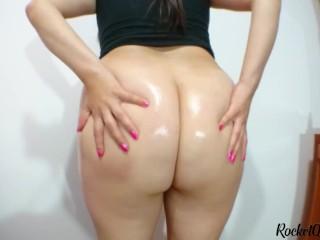 Oiling my ass...