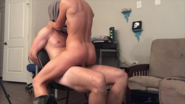 Dogpile is fucked up Husband tied up, gagged and fucked till lora gets her cum