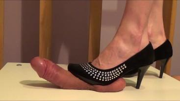 High Heels Cock Trample