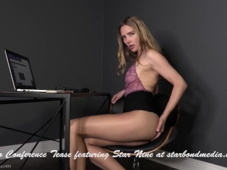 Video conference tease office domination trailer...