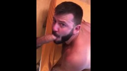 Leo Grin sucks my cock 2