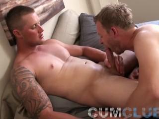 Cum Club: Hot-n-Beefy Stud Fucks Ass Hard w/Thick Cock