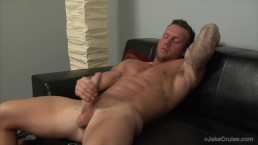 Bo Dean Jacks Off and Jake Cruise Eats His Cum