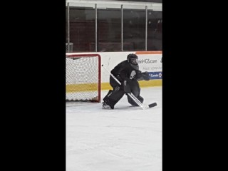 GETTING HER GOALIE OFF