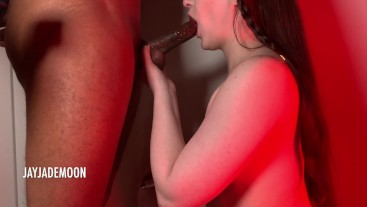 Red Light and Sloppy Top • BEST BJ OF THE YEAR • JayJadeMoon Amateur