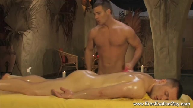 Gay lit erotic Erotic gay massage on the table