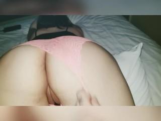 Watch boyfriend fuck me with a 8 inch dildo