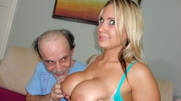 Busty Young School Girl Alanah Rae Looses Bet To A Big Dick, Dirty Old Man!