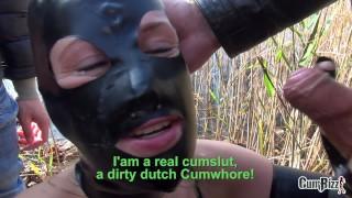 Dutch cumjunkie cumloads makes teacher over teen anonymous swallow young facial