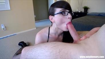 Natalie Mars: Nerdy Little Cocksucker