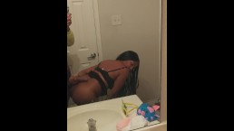 Petite Ebony Teen Letting BBC Fill Her Up