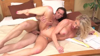 Screen Capture of Video Titled: Stepsonon Mom Synthia Fixx