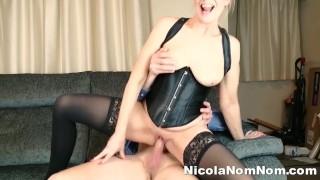 Mature Wife Fucks Toyboy And Gets Accidental Creampie