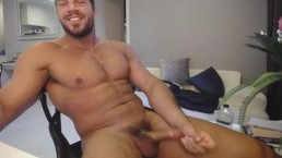 Hard Cock Of Brock Jacobs Showing Off And Unloads Huge Cum