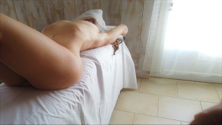 Un Massage Sensuel vire au sexe intense avec Sodomie