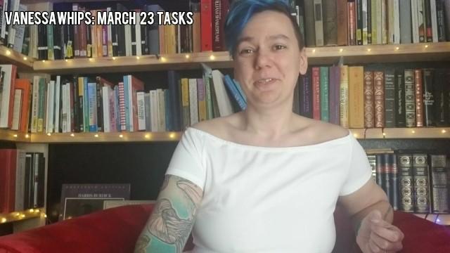 March 23 Tasks 44