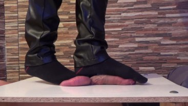 Socks cock & balls trample torture