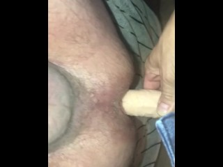 Getting pegged and cum too quick