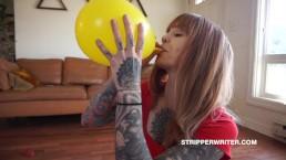Balloon Abuse + Balloon Torture ASMR