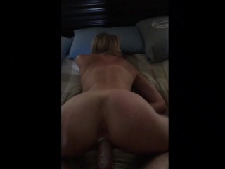 Wife wet and wanting doggy
