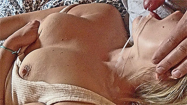 What is a pearl necklace in sex - Small milf mouth fuck, blowjob pearl necklace big cum load squirming orgasm