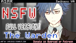 NSFW Rough Anime Yandere ASMR - The Warden Inspects You FULL