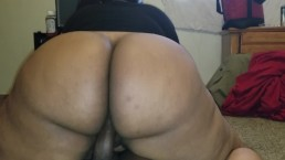 BOUNCING ALL THIS ASS ON DADDYS DICC TIL I CUM